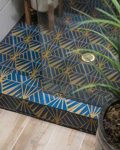 Design + Photo by Jessica Brigham. Bathroom Tile Designs, Bathroom Trends, The Tile Shop, Design Consultant, Bathroom Inspiration, Free Design, Tile Floor, House Design, Home Decor