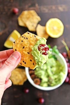 Try something new with your avocado dip with healthy, easy, and unique flavors in feta and grape guacamole.