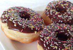 donuts sin huevo y sin lácteos