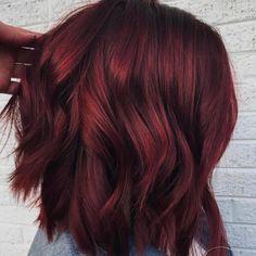 'Mulled Wine Hair' Is Winter's Prettiest, Coziest Hair Color Trend