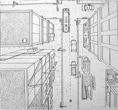 one point perspective by cparks.deviantart.com on @deviantART