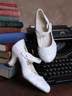 Bridal Shoes Worcester Perfect Bridal Esta Ivory Lace_IMG_4117