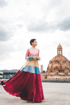 Modern Victorian :: Lace pleated dress & London love : Wendy's Lookbook