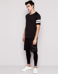 Xavier Serrano Models Trendy Young Clothes for Pull & Bear August 2014 Arrivals