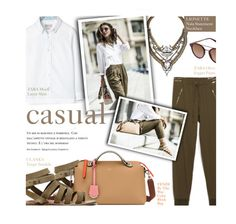 """casual - exact match"" by federica-m ❤ liked on Polyvore featuring Lionette, Zara, Carrera, GetTheLook, blogger, zara, fendi and jogger"