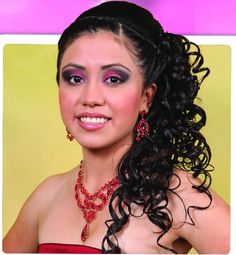 > Quinceanera Hair styles > Quinceaneras Photo Galleries