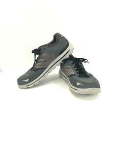 571d923bc178 Mens Sketchers GoMat Go Walk Flash gray shoes V Stride Size 10.5  Skechers   WalkingShoes