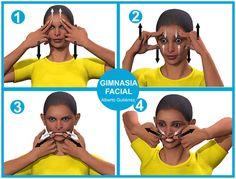 4 ejercicios faciales