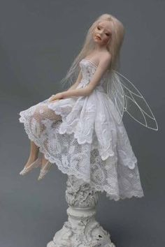 Art dolls by Claudine Roelens by renee dabah