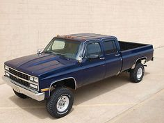 Chevrolet 1 Ton, Crew Cab, Long Bed Pick Up Truck Dana 60 500 + Pics - Used Chevrolet C/k Pickup 3500 for sale in Clinton Township, Michigan Chevy Pickup Trucks, Classic Chevy Trucks, Gm Trucks, Lifted Ford Trucks, Chevy Pickups, Jeep Truck, Cool Trucks, Diesel Trucks, 4x4