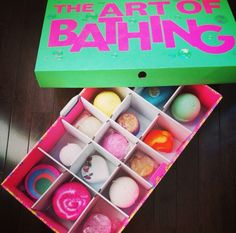 Great way to store you Lush :) Lush Cosmetics, Handmade Cosmetics, Lush Store, Lush Bath Bombs, Lush Products, Beauty Products, Bath Fizzies, Perfume, Victoria