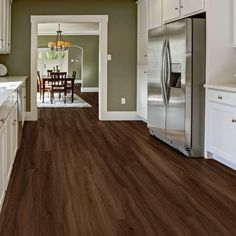 """Added this Allure ISOCORE Vinyl Plank DIY Flooring to my Wishlist - It's """"Easton Hickory"""". Available exclusively at The Home Depot. Click the Pic to Shop it! Vinyl Flooring Kitchen, Vinyl Plank Flooring, Diy Flooring, Allure Flooring, Hickory Flooring, Luxury Vinyl Plank, Reno, Best Interior, Interior Design"""