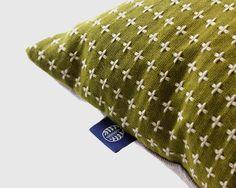 Pillow Green Sashiko