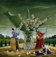 Michael Cheval → Surrealismo Mágico