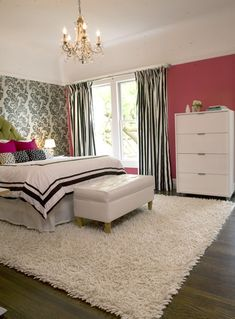 Modern Girly Bedroom