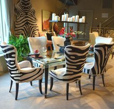 Zebra Dining Room Chairs Animal Print Dining Chairs Best Zebra Chair Ideas On Animal Print Dining Chairs Best Zebra Chair Ideas On Zebra Print Decorations Animal Print Dining Room Chairs Animal Print Furniture, Animal Print Decor, Animal Prints, Dining Room Design, Dining Room Chairs, Side Chairs, Dining Rooms, Dining Area, Dining Table