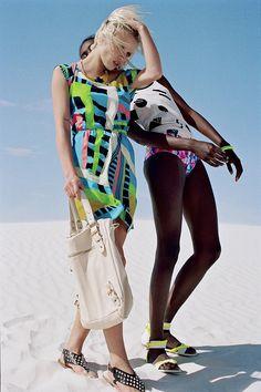 Neon for summer! UrbanOutfitters.com > Deena & Ozzy Tubular Sandal