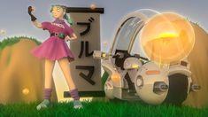My CG version of Bulma from the original dragonball series