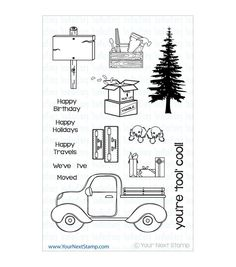 Your Next Stamp Clear Stamps-Load Up