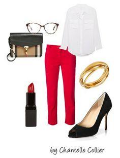 red capri pants over 40