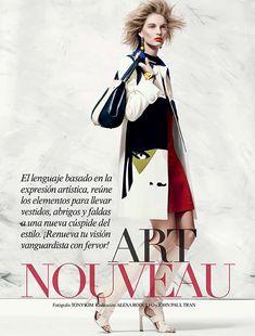cool Vogue México Fevereiro 2014 | Patricia Van der Vliet por Tony Kim  [Editorial]