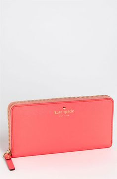 Women handbags fashion kate spade kate spade new york mikas pond - lacey zip around wallet available at Nordstrom. Kate Spade Handbags, Kate Spade Wallet, Kate Spade Purse, Classic Handbags, Cute Purses, Cute Bags, Purses And Handbags, Handbags Online, Fashion Bags