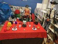 Halloween en biblioteca CEIPJUAN PABLO I VALDERRUBIO GRANADA