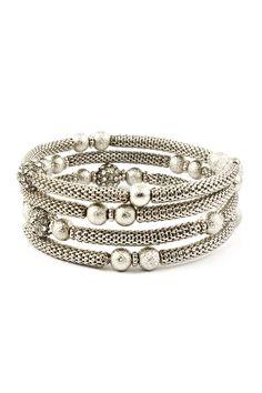 Crystal Delphine Bracelet