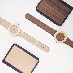 Gift idea: get a unique one-of-a-kind wooden watch as a gift and one for you too - analogwatchco.com