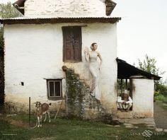 "LEILA HAFZI wedding collection - Royaye Sefid IV ""Resham Firiri"" 2014/15     Photo www.erikalmas.com  View TBS here http://vimeo.com/76056075"