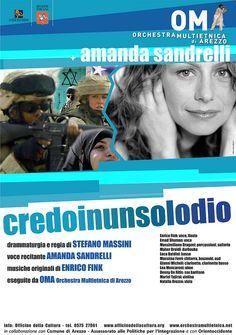 Credoinunsolodio con Amanda Sandrelli e l'Orchestra Multietnica di Arezzo