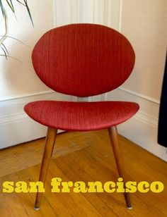 San Francisco's Finest:  Potato Chip Chair, Gothic Mirror & Lee Jofa Chair   Daily Classifieds