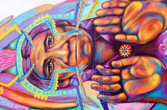 A photo tour of the amazing street art & graffiti found throughout the colorful town of Bogota, Colombia.