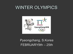 A description of the Winter Olympics and a Guess That Sport activity. Get all your Winter Olympic or Olympic resources for teaching on EFL Classroom 2.0. https…