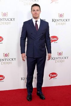Stephen Amell at the #KentuckyDerby2015 #AmellAddict