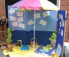 Role play area - beach