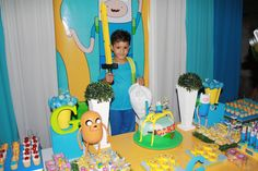 Adventure time Birthday Party Ideas | Photo 21 of 21 | Catch My Party