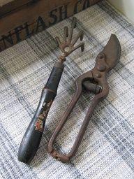 Vintage Garden Tools by NaturalVintage