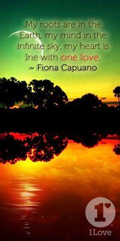 TrueLove Fiona Capuano feeling #IRIE