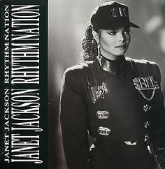 "For Sale - Janet Jackson Rhythm Nation - Gatefold UK  7"" vinyl single (7 inch record) - See this and 250,000 other rare & vintage vinyl records, singles, LPs & CDs at http://eil.com"
