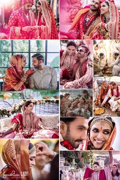 Deepika Padukone And Ranveer Singh's Wedding Photos One of the most awaited celebrity wedding of the year has been done and many congratulations to the couple of the moment, Deepika Padukone and Ranveer Singh. Bollywood Couples, Bollywood Wedding, Bollywood Stars, Indian Celebrities, Bollywood Celebrities, Bollywood Actress, Bollywood Fashion, Deepika Ranveer, Ranveer Singh