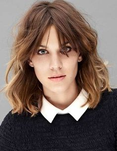 Znalezione obrazy dla zapytania alexa chung hair