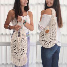 Crochet bag pattern CELIA summer bag Crochet boho bag-All Bag Crochet, Crochet Purse Patterns, Crochet Market Bag, Crochet Shell Stitch, Crochet Handbags, Crochet Poncho, Crochet Purses, Patron Crochet, Blanket Crochet