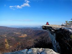 Awesome places to see when hiking the Appalachian Trail.