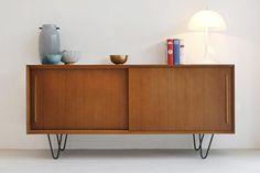 Oslo Vintage Dressoir - 150x45x69cm - Teak | Furnified