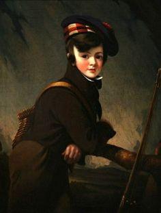 Portrait Of Master Knipe