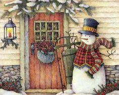 Items similar to 4 Snowman Christmas Cards Holiday Season's Greetings Santa Claus Christmas Art Holiday Greeting Notecards/ Envelopes Set on Etsy Christmas Clipart, Christmas Music, Vintage Christmas Cards, Christmas Pictures, Christmas Snowman, Christmas And New Year, All Things Christmas, Christmas Scenery, Winter Holiday