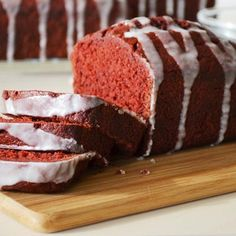 Red Velvet Mini Loaves Recipe from Land O'Lakes