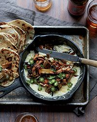 Bacony Tortillas with Melted Cheese and Crispy Mushrooms | Food & Wine