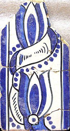Azulejos antigos no Rio de Janeiro: Catete II - rua Pedro Américo